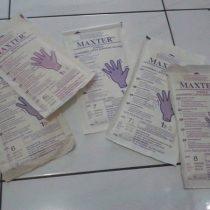 jual sarung tangan maxter steril